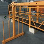 bir fazali to'xtatilgan simli platformalar 800 kg 1,8 kVt, ko'tarish tezligi 8 -10 m / min