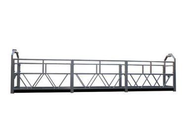 2 x 1,8 kw to'xtatib qo'yilgan iskala yagona fazali to'xtatilgan platforma platformasi zlp800
